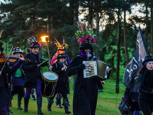 Hemlock Morris dancers