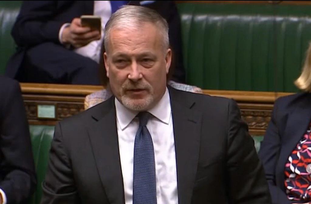 Richard Fuller, MP for NE Beds