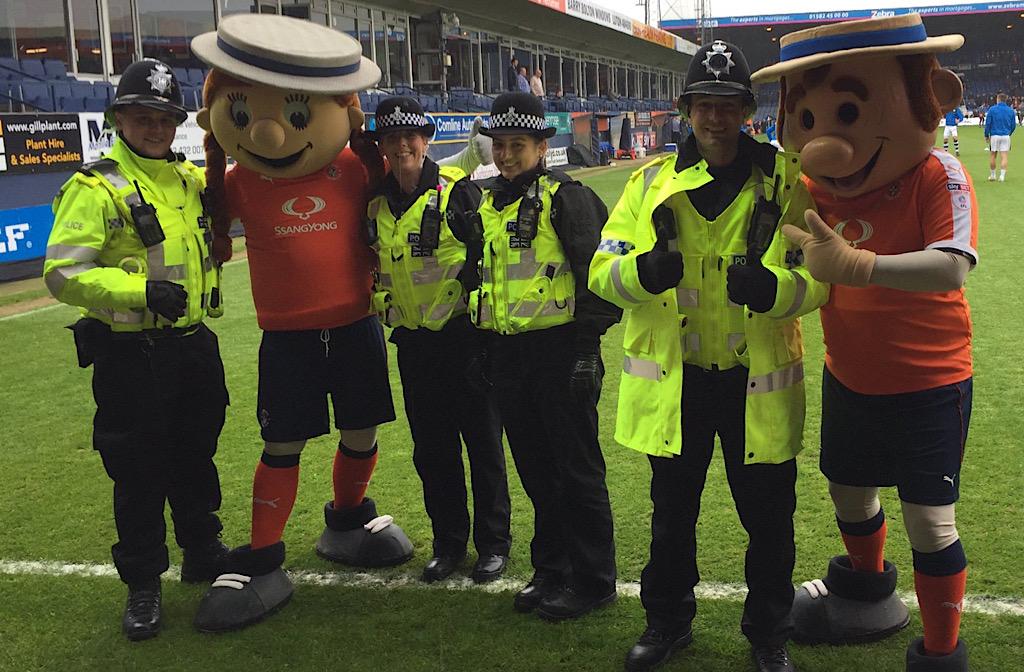 Bedfordshire Police special constables