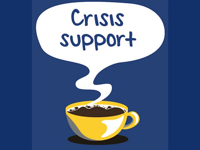 Crisis cafe