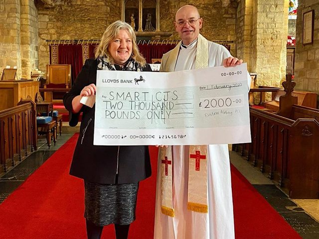 Elstow Abbey SMART Prebend fundraiser