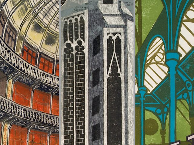 Edward Bawden: Architectural Elements at the Higgins Bedford