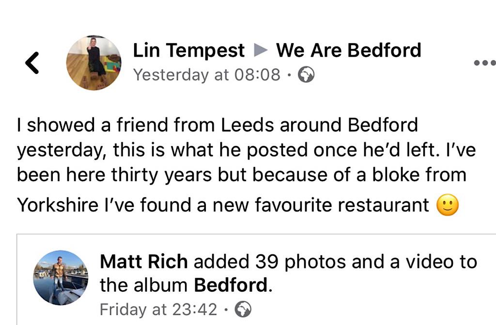 Lin Tempest post