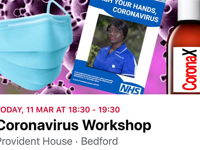 Provident House coronavirus workshop