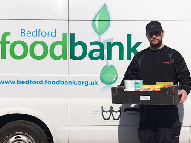 Tom Grennan Bedford Foodbank