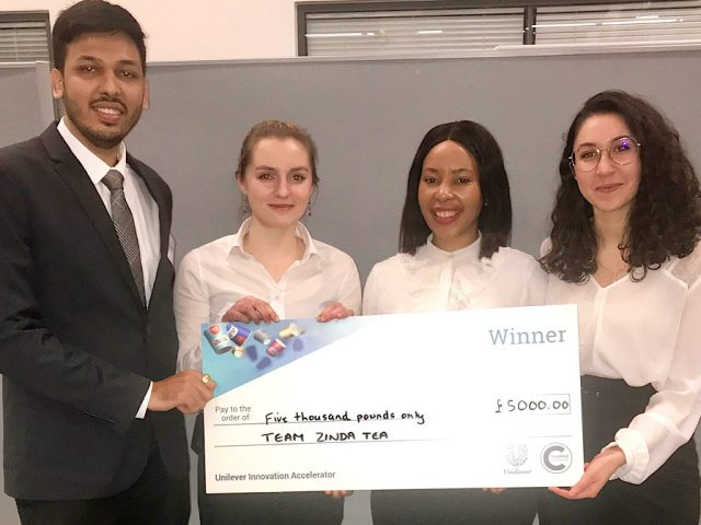 Unilever competition winners