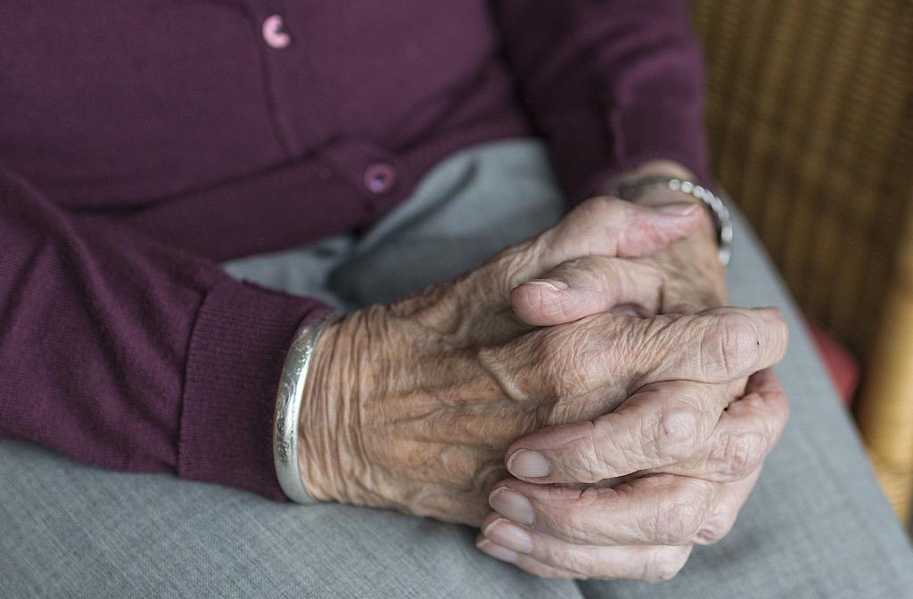 elderly person old age pensioner