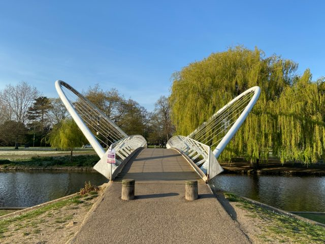 Butterfly Bridge, The Embankment, Bedford