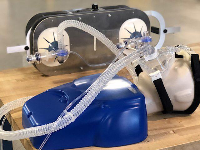 Cranfield University ventilator