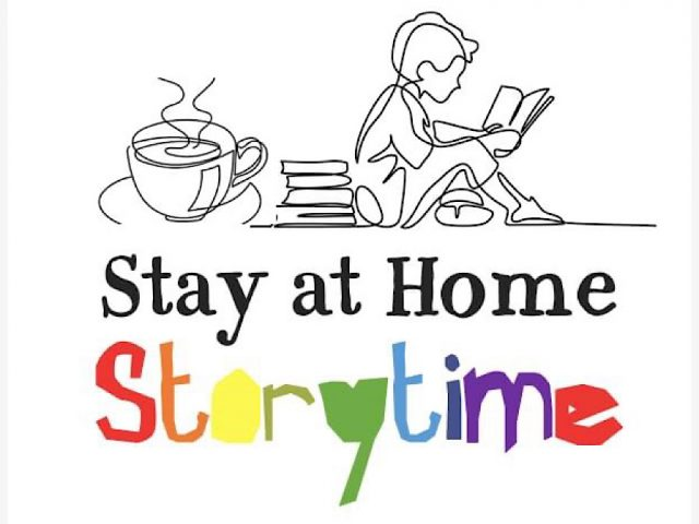 Stay at home storytime