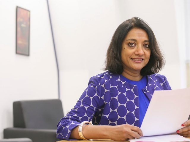 Dr Navina Evans Chief Executive of ELFT