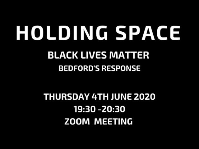 Holding Space Black Lives Matter