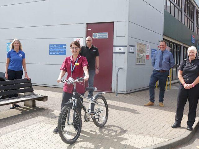 Hospital bike