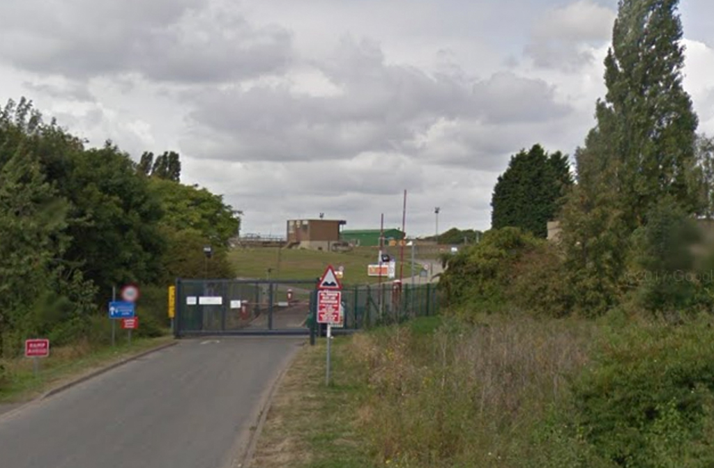 Anglian Water Sewage Treatment Works Bedford (Meadow Lane)