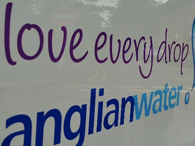 Anglian Water van livery