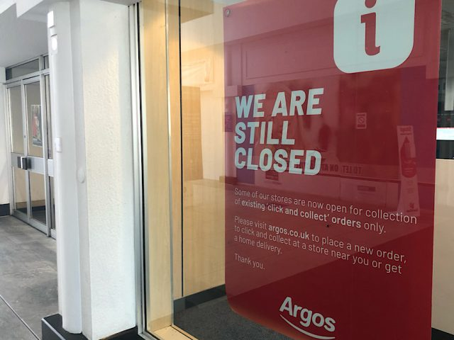 Argos in the Harpur Centre