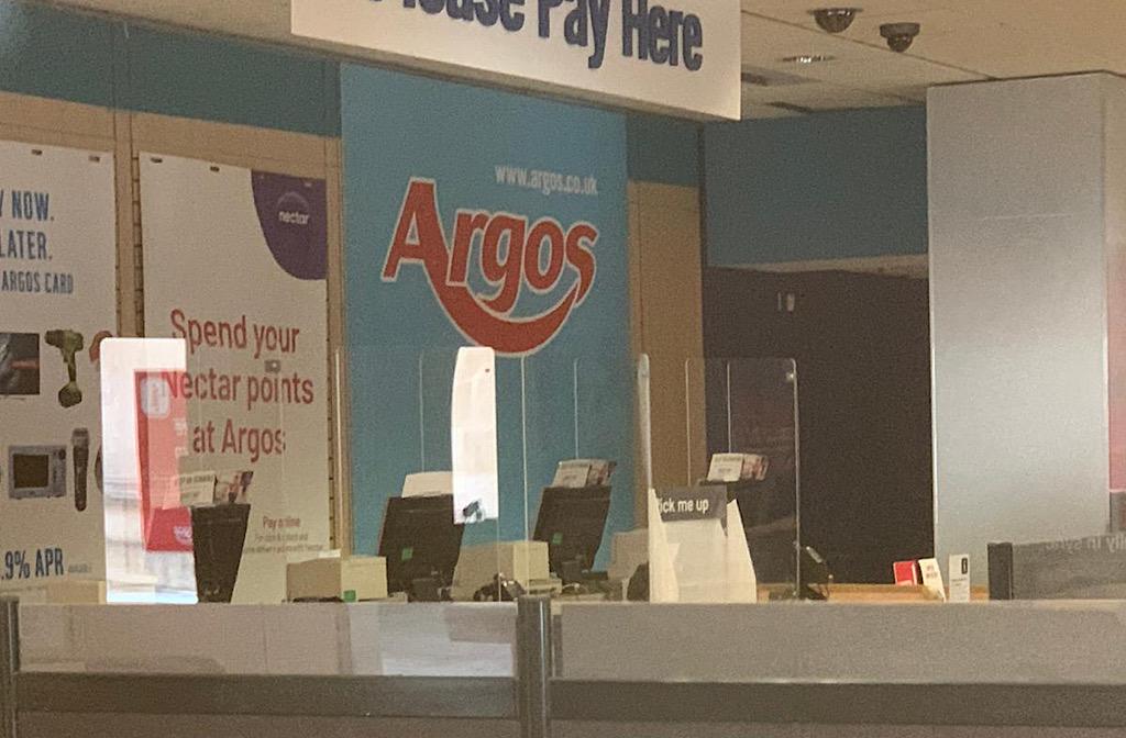 Argos in the Harpur Centre
