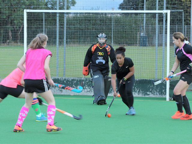 Bedford Ladies' Over 35s preparing for Sunday's match