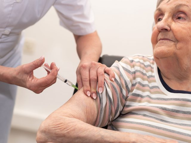 Flu vaccine over 65s