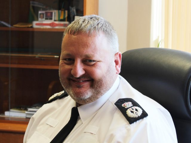 Chief Constable Garry Forsyth