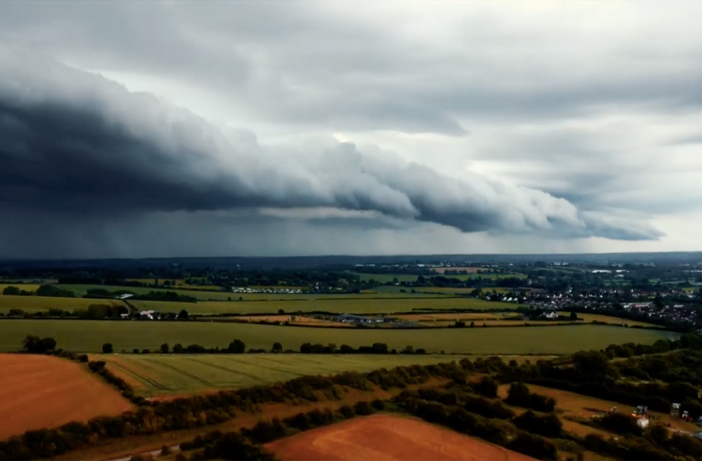 Summer storm time-lapse over Bedford. Image: Don Weeraserie