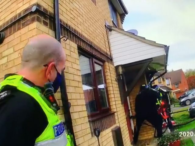 Police raided a property in Brickhill on 22 October 2020, they later arrested a man for drugs-related crimes.