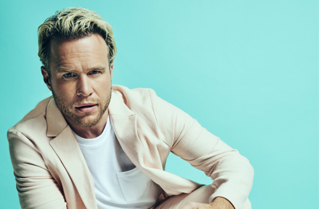 Olly Murs will be performing at Bedford Park Concerts 2021