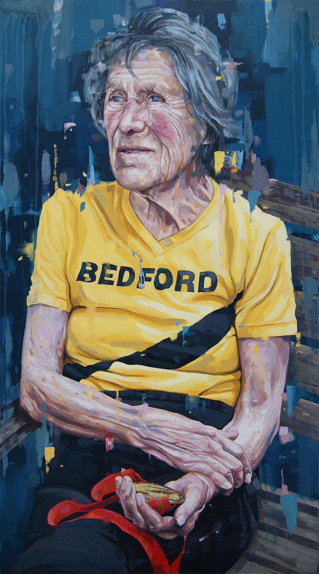 Iva Barr portrait by Oliver Winconek