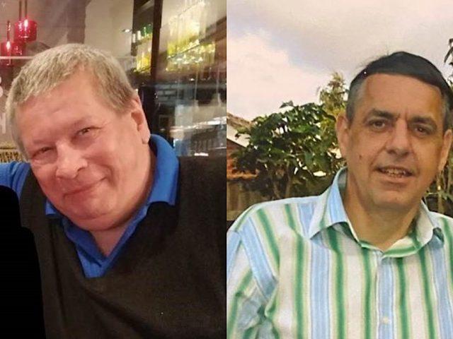 (L-R) John Manning and Mark Varney