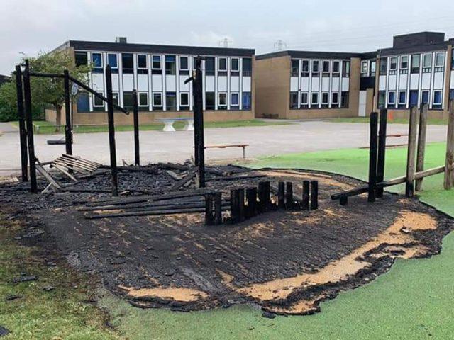 Scott Primary Arson 23 July 2021