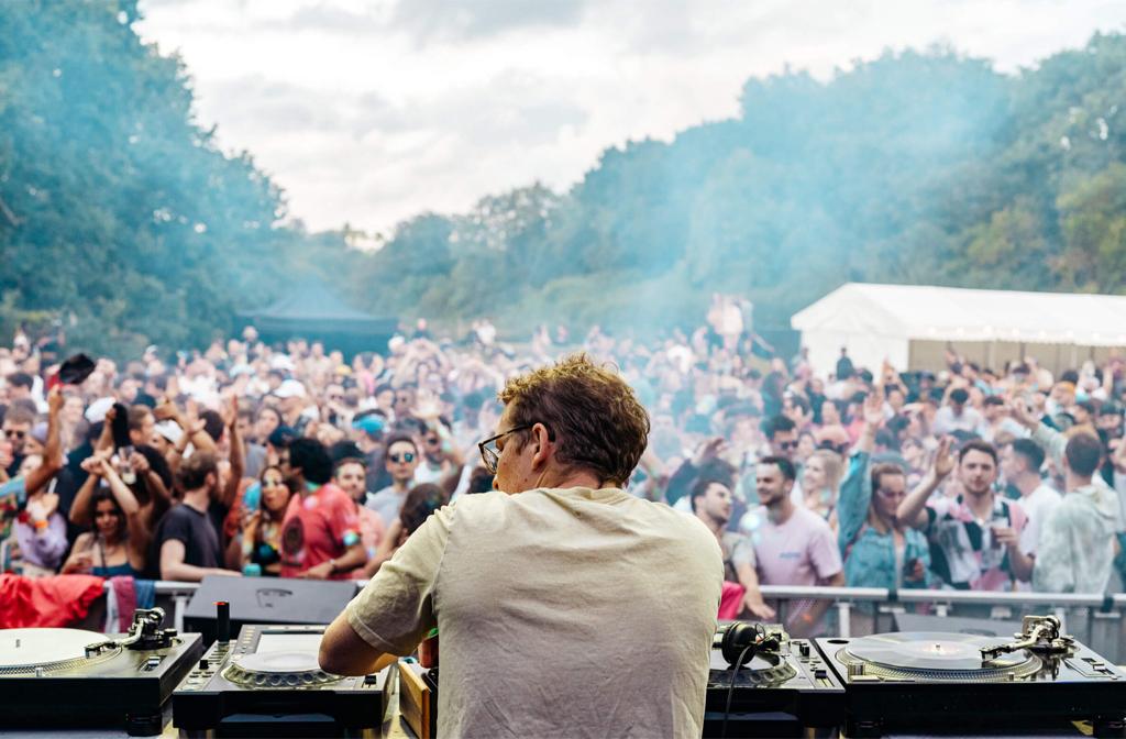 Labyrinth Festivals at Tofte Manor 2021 DJ