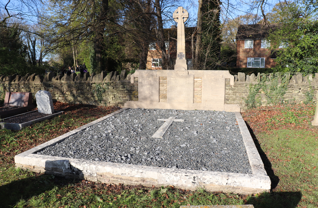 Final resting place of Sir Alexander Stanhope Cobbe VC, GCB, DSO