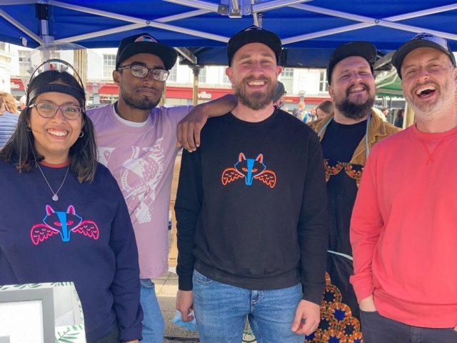 Team Foxy Wings at Bedford Flea