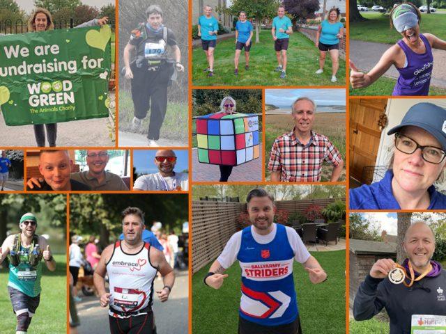 Bedford's London Marathon runners 2021