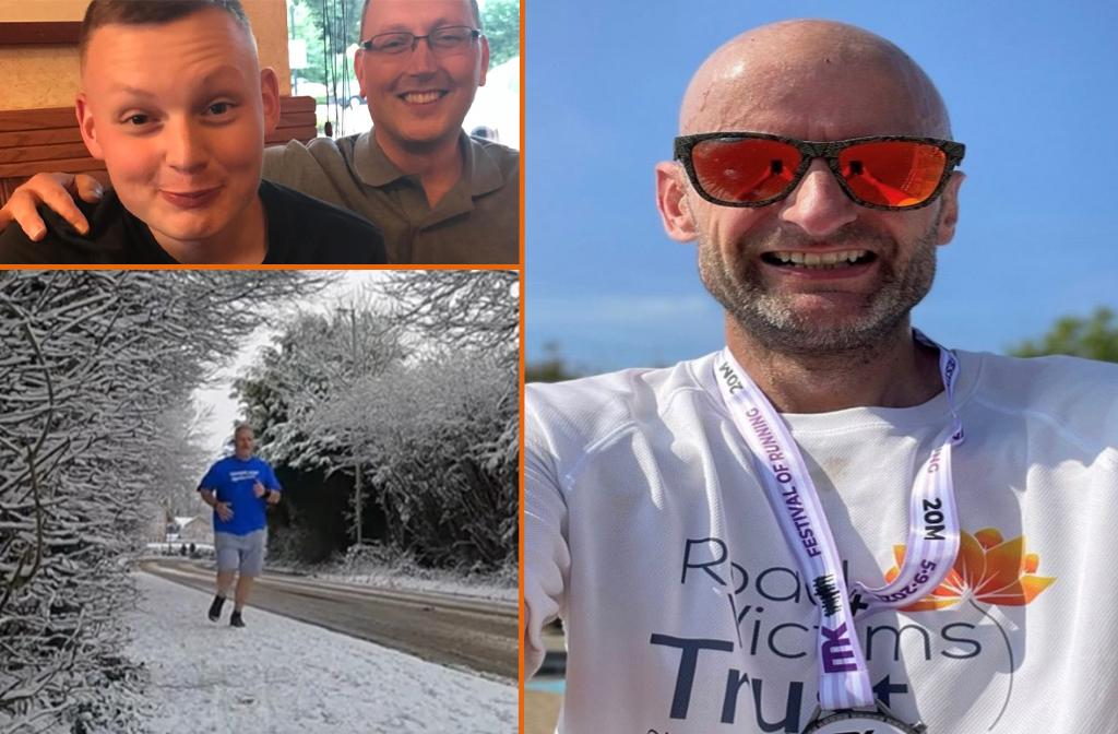 Road Victims Trust Marathon Runners 2021