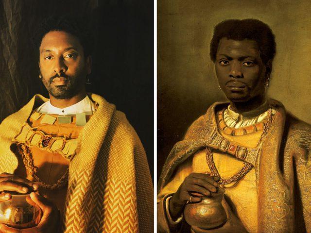 The African King Caspar